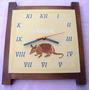 Reloj De Pared Bordado Personalizado - Regalo Empresarial