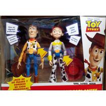 Juguetes De Toy Story Jessie Y Woody Parlantes Oferta!
