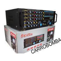 Planta Power 7000 Watts 600 Rms P Bajos Medios, Corneta Fuer