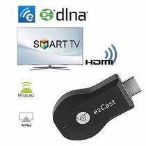 Adaptador Transforma Tv Em Smart Ezcast Youtube Hdmi