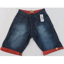 Kit Bermuda Jeans Infanto-juvenil Varias Marcas Com 3 Peças