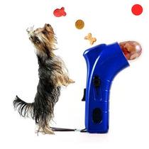 Pet Snack Launcher, Excelente Alimentador De Mascotas