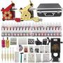 Complete Tattoo Kit 2 Machine Professional Gun 40 Ink Set