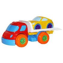 Caminhão Robustus Kids Guincho Brinquedo P/ Bebê Divertoys