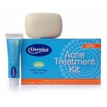 Dermisa Kit Acne Tratamento Com Calmante Aloe Vera 120gr !