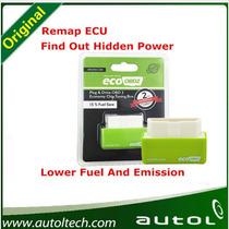 Eco Obd2 Tunning Chip Economia 15% Etanol Gasolina Flex Auto