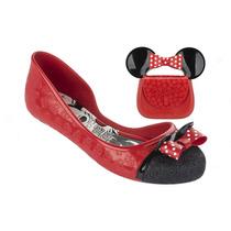 Sapatilha Infantil Disney Minnie Celebration Com Brinde