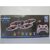 Drone Quadricóptero H-drone C-7 4 Canais 2,4ghz H-18 Candide