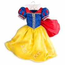 Vestido Disfraz Princesa Blancanieves Disney Store Usa