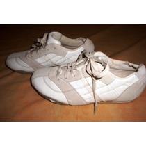 Remato Zapatos De Cuero Diesel Originales Sport Dama #38