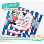 Cumple Mickey - Invitación Marinero Imprimible