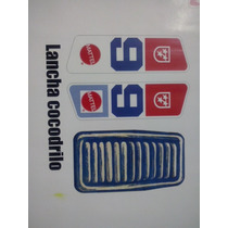 Kid Acero Lancha Cocodrilo Calcomanias Stickers Big Jim
