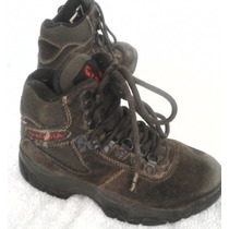 Zapatos Botas Acadia Niños Talla Eruro 32 Usadas 24 Cms