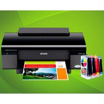 Impresora Epson Worforce 30 Con Sistema De Tinta Continua