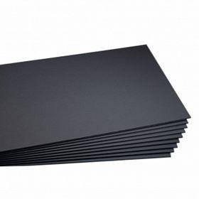 1eae23e038a 4 Placa De Foam Board 5 Mm 30x40 Cm Preto Papel Espuma - R  49