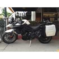 Motocicleta Triumph Tiger 800 Doble Proposito Maletas Faros