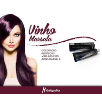 Tinta Vinho Marsala 66.26 Hidraty / Mairibel Lançamento
