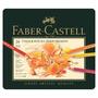 Lápis De Cor Polychromos Com 24 Cores Faber Castell