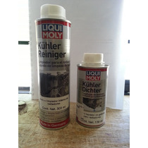 Paquete Aditivo Liqui Moly, Limpiador Y Tapa Fugas Radiador