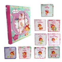 Livro Infantil Coleção Moranguinho Baby Kit 9 Mini Livrinhos