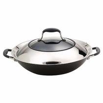 *wok Cubierto Antiadherente Anolon 36 Cm.