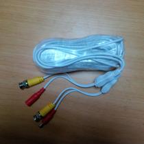 Cable Para Camaras Con Corriente 18 Mts