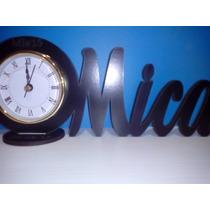 Souvenirs Reloj Con Nombre Pers 15 Años Aniversarios Cumples