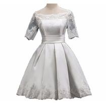 Vestido De Novia Civil O Fiesta ,gala O Evento, Matrimonio.