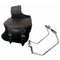 Kit Alforge Botinha Couro Completo Intruder 125 V2 Custom