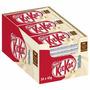 Kit Kat Branco Importado Caixa Com 24.