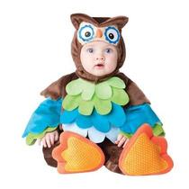 Disfraz Búho De Colores Para Bebé Niño Talla 6 - 12 Meses