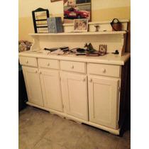 Vendo Mueble De Madera Blanco