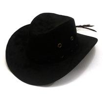 Chapéu Cowboy Country Masculino E Feminino Rodeio Preto