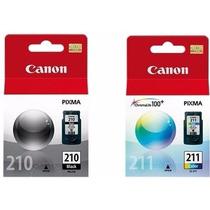 Kit 2 Cartuchos Canon Pg210 Cl211 Para Mp240 Mp250 Mp490