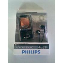 Mp4 Philips Gogear Ariaz 4gb Reproductor,sony,ipod,creative