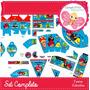 Kit Cumpleaños Imprimible Angry Birds Editable