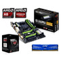 Kit De Actualización Amd A8 Quad Core 8gb G1 Sniper A88x