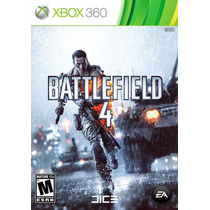 Battlefield 4 - Xbox360 - Usado