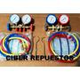 Combo Manifold Refrigeracion R 410 Mas Manifold R 22/134/512
