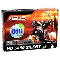 Placa De Video Asus Amd Radeon Hd 5450 Silent, 1gb Ddr3
