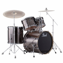 Bateria Pearl Export Exx725 Sp/c Smokey Chrome - Shell Pack