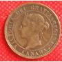1 Centavo Dollar 1900 Canadá Moneda Reina Victoria - Vbf