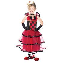 Disfraz Vestido Reina De Las Maravillas Niña C48140