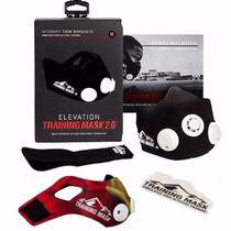 Elevation Training Mask 2.0 Original + Sleeve + Pulsera Gym