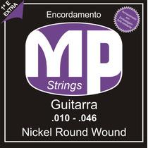 Paganini Jogo De Corda Guitarra .010-.046 Mpe510 Nickel