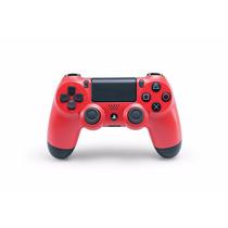 Dualshock 4 Rojo Magma. Playstation 4. ¡sólo En Gamers!