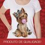 Camisetas Femininas Engraçadas Estampa Animais Rock Nerds