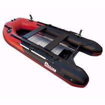 Lancha Inflable Pesca Raft Pvc 1.2mm Piso Rigido 12.5 Pies