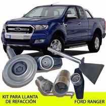 Sparelock Kit Seguridad Llanta De Refacción Ford Ranger