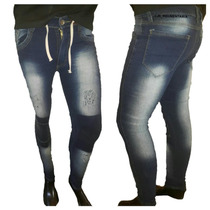 **pack 2 Chupines De Jean Para Hombre, Local, Rotur, O Parch